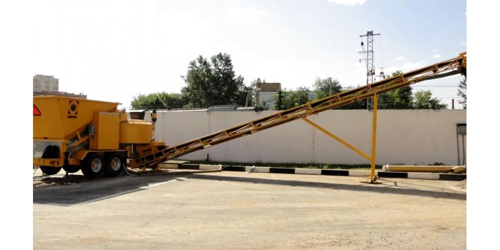 Мобильный бетонный завод Fibo Intercon B1200