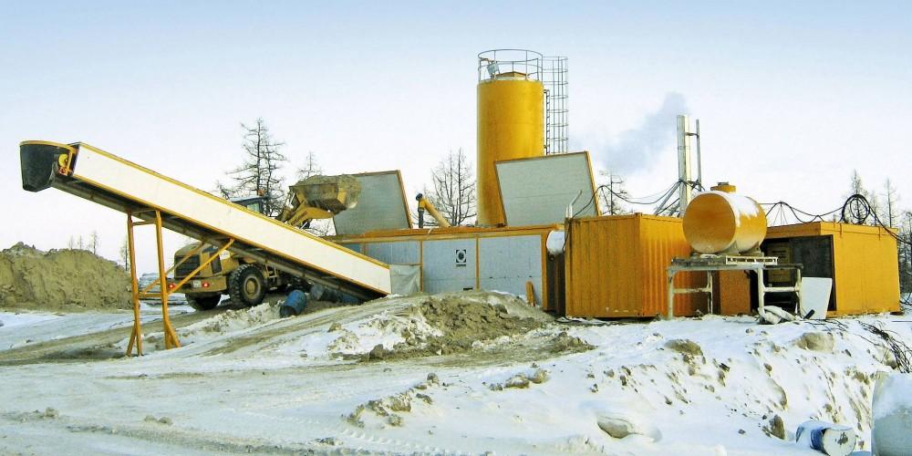 Полумобильные бетонные заводы Fibo Intrercon