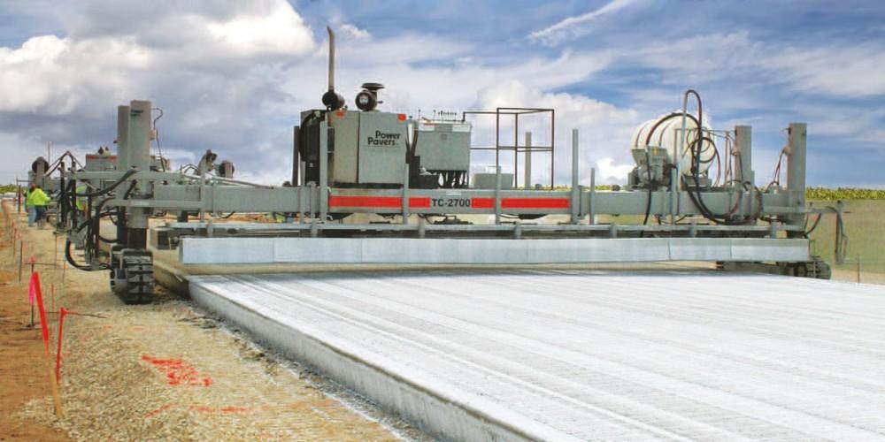 Текстуровщики бетона Power Curbers & Power Pavers